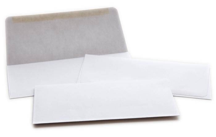 "#9 Envelope, 24lb White Wove, 8.875"" x 3.875"""