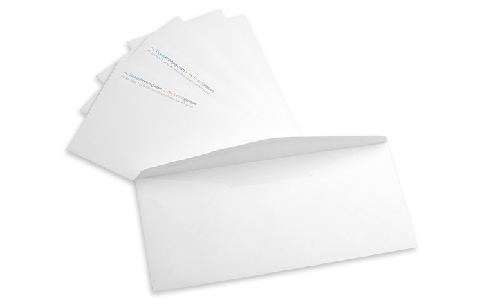 "#10 Envelope, 24lb White Wove, 9.5"" x 4.125"""